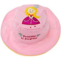 Flapjacks 2in1reversibile per bambini estate hats-princess/pea-medium