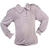 Miss Girly- Camiseta de manga larga niña 3/8 años FARUI- rosa-6 años