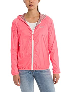 Bench Core Easy Windbreaker, Chaqueta Impermeable para Mujer