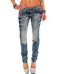 Cipo & Baxx Damen Jeans Designer Style