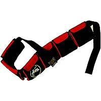 Seal - Cinturón de lastre para submarinismo rojo rosso Talla:large       6 pockets  40''- 46''       ( 102-117cm )