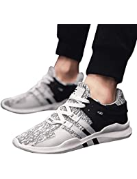 JiaMeng Zapatillas de Correr Hombre Color de Hechizo Casual Cómodas Calzado Deportivo Zapatos Casuales de Moda Zapatos cómodos Calzado Casual para Hombre Calzado