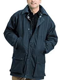 Country Leisure Wear British Quilted Wax Rain Jacket