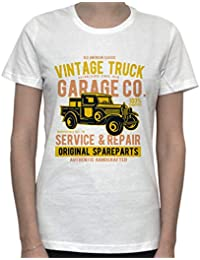 Vintage Truck Original Spareparts Artwork Womens T-Shirt