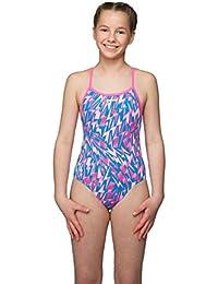 3d85b96b60 Maru Swimwear Lightning Strike Pacer Fly Back Pink Aqua Kids (26)