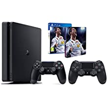 Pack PS4 1To + FIFA 18 + 2ème manette + Steelbook FIFA 18