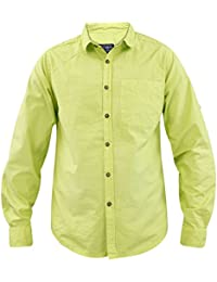 Nouvelle Mens Jack Sud coton popeline Oxford Casual Summer Roll Up haut chemise à manches