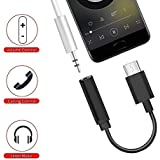 Jstbuy Type C to 3.5mm Headphone Jack Adapter for One Plus 6T Xiaomi A1/A2 & All USB Type-C Device