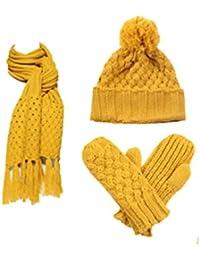 Amazon.fr   Withered - Packs bonnet, écharpe et gants   Accessoires ... 3e239ffc370