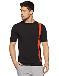 c12b4d6f2f5 Calvin Klein Performance Bold Stripe Stretch Cotton Regular Fit Short  Sleeve Tshirt