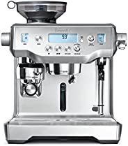 Breville Oracle Automatic Manual Espresso Machine- BES980, Silver with 1 year distributor warranty