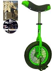 Monocycle Dodo 12 pouces (30cm) pour les enfants à partir de 4 ans + DVD offert