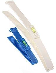 Pony-Frisur Scissors DIY Haar-Styling-Tools Friseurscheren Haarschneide Schere mit Lineal