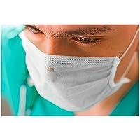 Einmal-Mundschutz mit Elastikband & Nasenbügel Op Maske Mundschutzmaske 50 Stk. preisvergleich bei billige-tabletten.eu