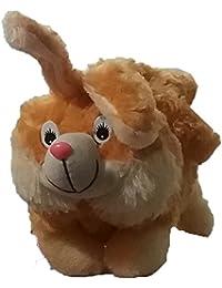 Pari Toys Golden Color School Bag For Kids, Travelling Bag, Picnic Bag, Carry Bag With Soft Material 15 Inch