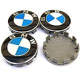 68mm Rueda Lamer Insignia Center Caps Emblem para BMW Conjunto de 4