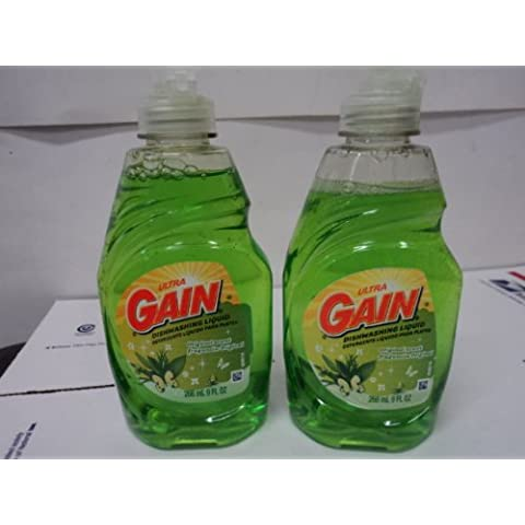 Gain Ultra Dishwashing Liquid Original Scent (2) 9 fl. oz Bottles by Proctor & Gamble