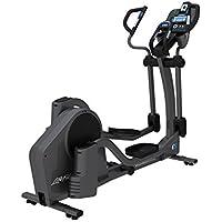 Life Fitness - bicicleta elíptica E5 con consola TRACK+