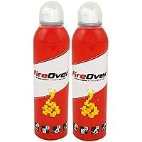 Fireover FO1516 - Pack de 2 extintores de Fuego (250 ML)