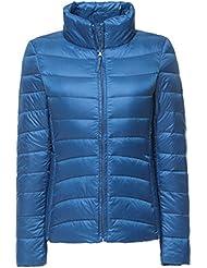 1341dfb39b 4.1 out of 5 stars 13 · ZhuiKun Womens/Ladies Ultra Lightweight Long  Sleeves Packable Down Puffer Jacket