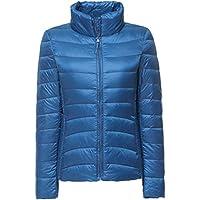 ZhuiKun Womens/Ladies Ultra Lightweight Long Sleeves Packable Down Puffer Jacket