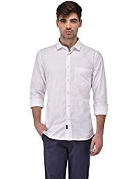Sting White Checked Full Sleeve Casual Shirt