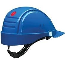 3M G2000CUV-BB - G2000 Casco azul con ventilación, arnés estándar y banda de