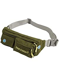 Tradico® Army Green: FreeKnight Authorized Unisex Nylon Portable Outdoor Cycling Hiking Pouch Running Jogging...