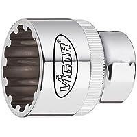 1//2, V5505-1//2 VIGOR Kraft-Gelenkstück V5505-1//2 Vierkant hohl 12,5 mm
