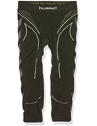 Hummel Pantalón Interior Técnico 3/4 Hero Baselayer Negro / Gris Oscuro 10-12 años (140/152 cm)