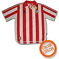 adidas - Athletic Bilbao 1ª Camiseta EDU Alonso 23 99/00 Hombre Color: Rojo