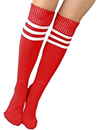 Grace Karin-Calcetines largos para hombre, color Rojo - Rojo, tamaño One size fits the most
