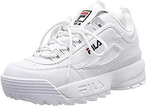 FILA Disruptor, Zapatillas Mujer, Blanco