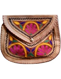 Generic Hand Made Embroider Sling Bag For Womens - B07GBR7PTY