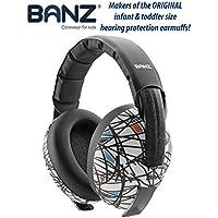 BANZ BABY EAR DEFENDERS, Protector acustico con almohadillas para bebés de 0 a 3 años.