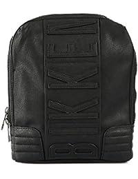 Bikkembergs bolsillo Unisex Cremallera Logoed Black