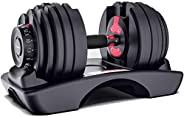 Adjustable Iron Dumbbell - Single, EM-9261,Black