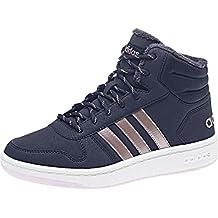 pretty nice 54223 6b0e9 adidas Hoops Mid 2.0, Chaussures de Basketball Mixte Enfant