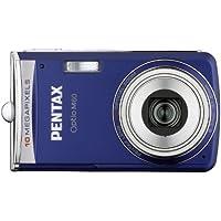 Pentax Optio M60 Digitalkamera (10 Megapixel, 5-fach optischer Zoom, 6,4 cm (2,5 Zoll) Display) ozeanblau