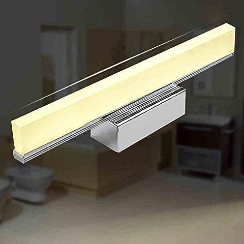 YMXJB Luce della parete del LED acrilico moderna specchio luci anteriori creativo Soggiorno Corridoio Bagno , 0.8m-12w - 12 Intaglio Bar
