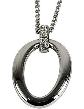 Esprit Damen Halskette Edelstahl Glas ATHINA ELNL12662A800