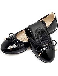 FLYRCX Weiche und Bequeme Flache Lederne Flache Schuhe des Bogens Beschuht Schwangere Frauen Faltbare Ballettschuhe der Schuhe einzeln