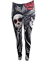 2c7d1c0200d9e Vixxsin Crow Girl Leggings Ladies Black Goth Emo Punk Girls New Women
