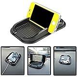niceEshop(TM) Voiture Tableau de Bord Porte-mat Pad Antidérapant Collant pour Téléphone Portable GPS (Noir)