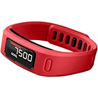 Garmin Vivofit Wireless Fitness Wrist Band and Activity Tracker (Red)