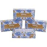 KLEENEX® Facial Tissue Box 60036-2 ply Flat Box Facial Tissue - 4 Tissue Boxes x 100 Face Tissues - Sheet Size 21 x 21 cm (400 facial tissue)