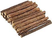 30 قطعة من عصي النعناع البري للقطط من سولجر، عصي جذور الكرمة الفضية الطبيعية لتنظيف الاسنان، عصي للمضغ القط، ل