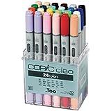 Copic CZ22075524 - Paquete de 24 rotuladores, multicolor