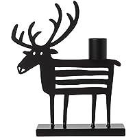 Schwarz, H/öhe 15 cm AZX Retro Kerzenst/änder Eisen Kerzenst/änder Zuhause Dekoratives Licht F/ür Hochzeit Geburtstag Festival Esstisch KerzeRomantische Wohnkultur