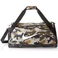 Nike NK BRSLA M Duff - AOP Bolsa de Deporte, Unisex Adulto, Neutral Olive